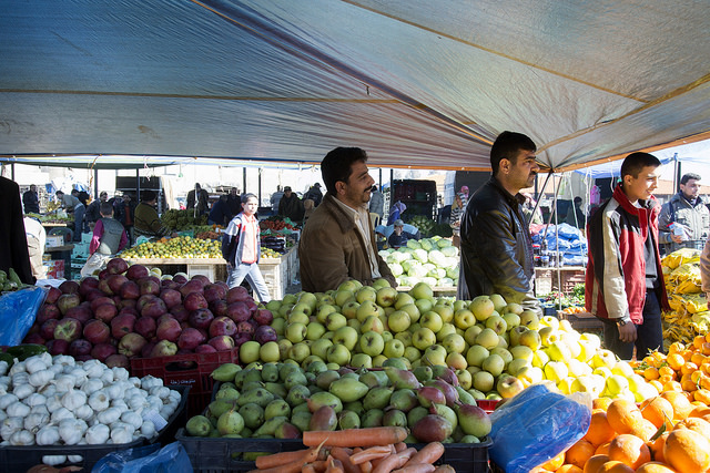 Food Security from Global to MENA