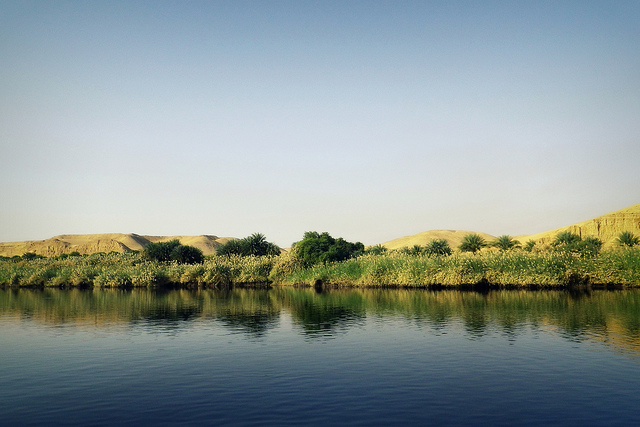 Looming crisis of the much decreased fresh-water supply to Egypt's Nile delta