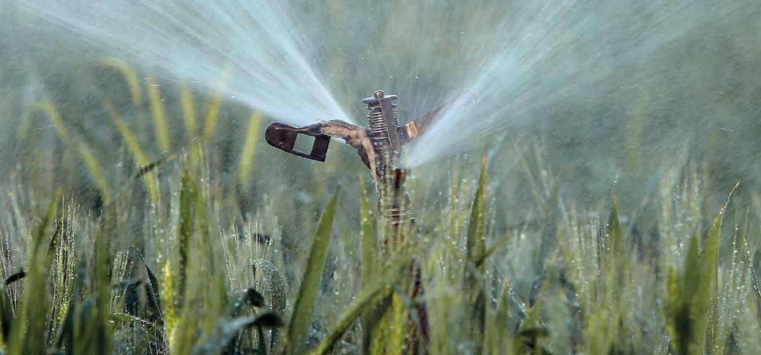Water for agriculture: producing more with less