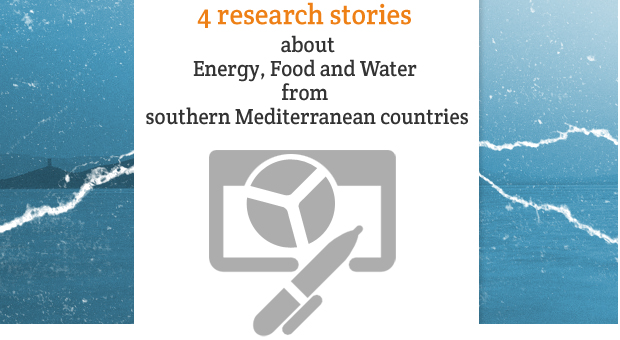 Nexus papers | 4 research stories about Energy, Food and Water from southern Mediterranean countries | ebook