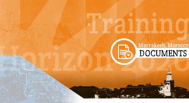 Training on H2020, Marrakesh   Presentations