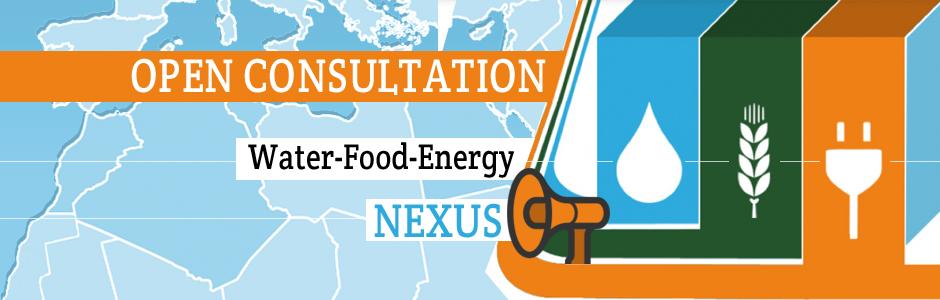 Water-Energy-Food Nexus: Open consultation