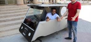 Gaza Strip students build solar-powered car