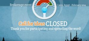 Brokerage event: call for ideas closed