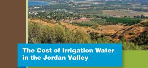 The cost of irrigation water in the Jordan Valley