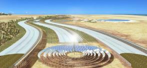 Solar power, desalination and crop growth in Tunisia